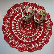 Для дома и интерьера handmade. Livemaster - original item Napkin ELEGANT. Handmade.
