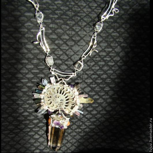 Колье, бусы ручной работы. Ярмарка Мастеров - ручная работа. Купить Ожерелье. Гимн Перуну. Handmade. Ожерелье