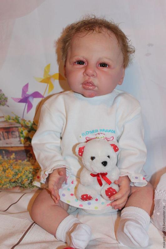 Куклы-младенцы и reborn ручной работы. Ярмарка Мастеров - ручная работа. Купить кукла реборн Юлька. Handmade. Бежевый