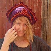 Аксессуары ручной работы. Ярмарка Мастеров - ручная работа шапка- кокошник Елена премудрая. Handmade.