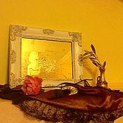 Для дома и интерьера ручной работы. Ярмарка Мастеров - ручная работа Орнаментальное зеркало Девушка. Продано. Handmade.