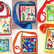 Работы для детей, ручной работы. Ярмарка Мастеров - ручная работа Сумочки детские - города мира. Handmade.