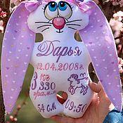 Для дома и интерьера handmade. Livemaster - original item The hare with the metric. Handmade.
