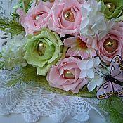 Цветы и флористика ручной работы. Ярмарка Мастеров - ручная работа Букет из конфет Лаура. Handmade.