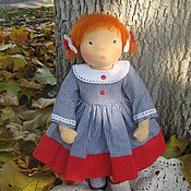 """Куклы и игрушки ручной работы. Ярмарка Мастеров - ручная работа Вальдорфская кукла """"Рыжуля"""""""". Handmade."""