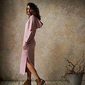 Одежда handmade. Livemaster - original item Oversize Jersey dress