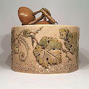 Для дома и интерьера handmade. Livemaster - original item Ceramic chandelier with three lamps