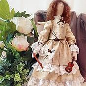 Куклы и игрушки handmade. Livemaster - original item Angel of music. Handmade.