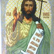 Материалы для творчества handmade. Livemaster - original item Scheme of the icon of St. John The Baptist. Handmade.