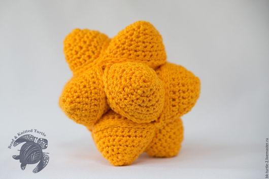 Развивающие игрушки ручной работы. Ярмарка Мастеров - ручная работа. Купить Amamani Star Ball - Звездный мяч Амамани. Handmade.