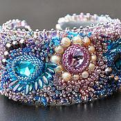 Украшения handmade. Livemaster - original item Wide bracelet Waiting. Handmade.