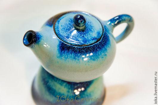 Чайники, кофейники ручной работы. Ярмарка Мастеров - ручная работа. Купить Чайник для чайных церемоний. Handmade. Разноцветный, космос