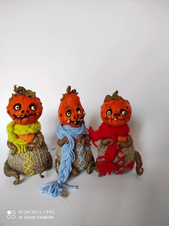 Интерьерные тыковки, Интерьерная кукла, Новосибирск,  Фото №1