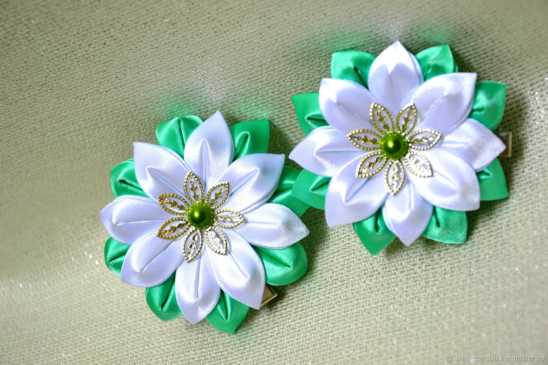 Заказать цветы из лент