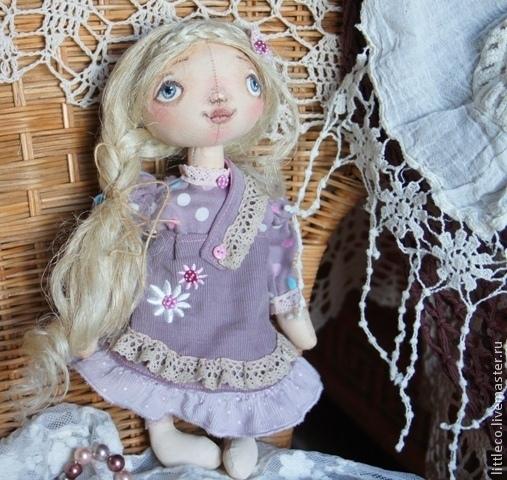"""Куклы тыквоголовки ручной работы. Ярмарка Мастеров - ручная работа. Купить Кукла тыквоголовка. """"Росинка"""". Handmade. Кукла ручной работы"""
