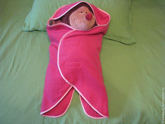 Аксессуары для колясок ручной работы. Ярмарка Мастеров - ручная работа. Купить одеяло-конверт для новорожденного (0 - 4 месяцев). Handmade.