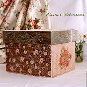 Для дома и интерьера ручной работы. Ярмарка Мастеров - ручная работа Большой короб для хранения.. Handmade.