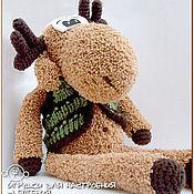 Куклы и игрушки handmade. Livemaster - original item Moose Jacques. Handmade.