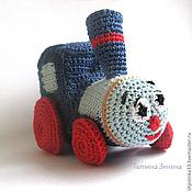 Куклы и игрушки ручной работы. Ярмарка Мастеров - ручная работа Паровозик из Ромашково вязаный. Handmade.