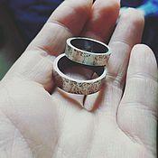 Украшения ручной работы. Ярмарка Мастеров - ручная работа WILD SILVER Обручальные кольца из серебра. Handmade.