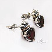 Украшения handmade. Livemaster - original item Posey earrings silver