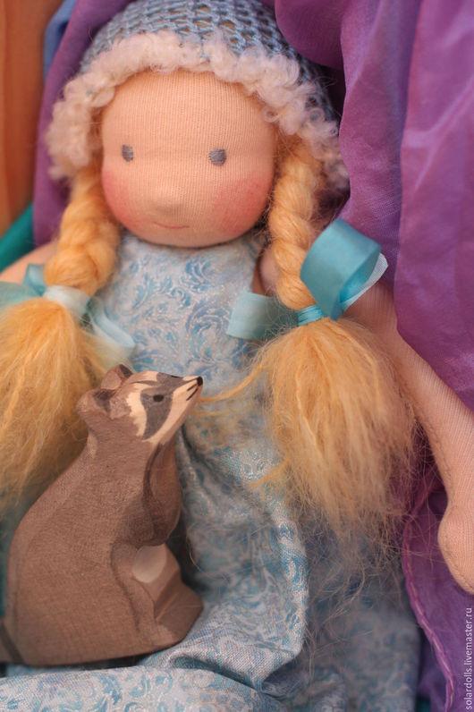 Василиса 25 см. Вальдорфская кукла.Julia Solarrain (SolarDolls) Ярмарка Мастеров