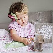 """Работы для детей, ручной работы. Ярмарка Мастеров - ручная работа Платье для девочки """"Зефир"""". Handmade."""