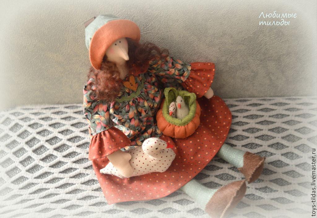 Птичница тильда, Куклы Тильда, Санкт-Петербург,  Фото №1
