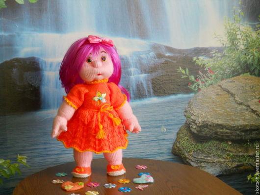 Человечки ручной работы. Ярмарка Мастеров - ручная работа. Купить кукла Лера. Handmade. Вязаная кукла, игрушка ручной работы
