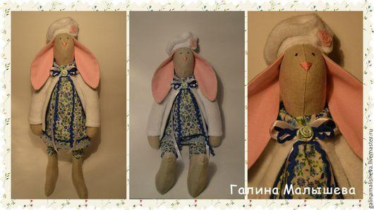 Куклы Тильды ручной работы. Ярмарка Мастеров - ручная работа. Купить Зайка Тильда. Handmade. Игрушка ручной работы, хлопок