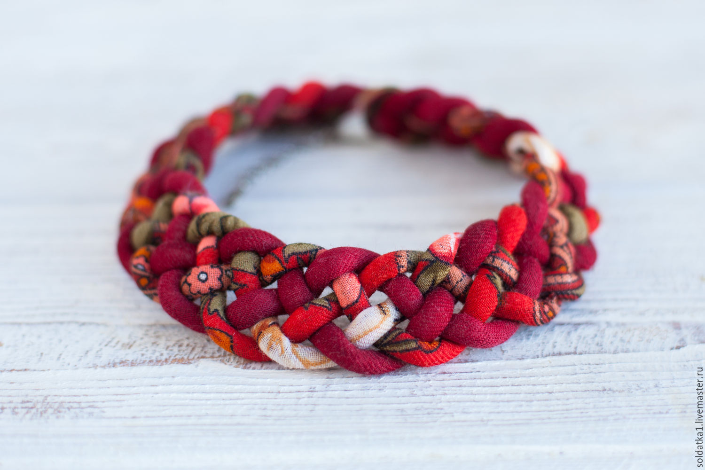 necklace 'cranberry', Necklace, Serpukhov,  Фото №1