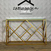 Для дома и интерьера handmade. Livemaster - original item Glassgow console.. Handmade.