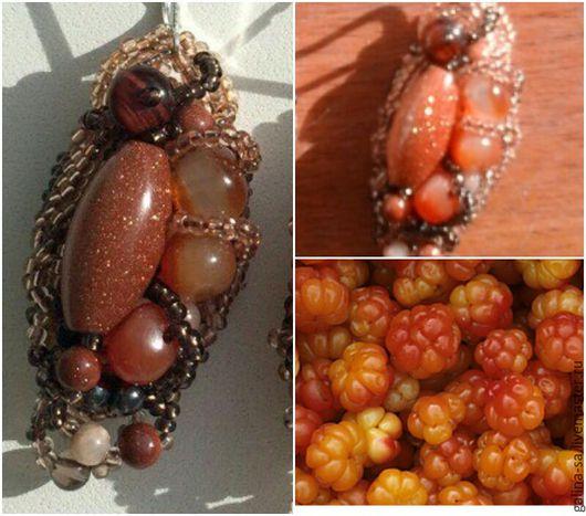 Серьги ручной работы. Ярмарка Мастеров - ручная работа. Купить Серьги Самоцветные ягоды. Handmade. Оранжевый, Сердолик, красивое украшение