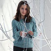 Одежда ручной работы. Ярмарка Мастеров - ручная работа Стильный свитер. Handmade.