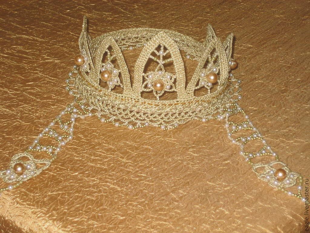 Кокошник или корона своими руками 77