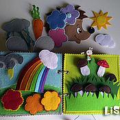 Cubes and books handmade. Livemaster - original item Toys: Owner baby. Handmade.