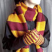 Аксессуары handmade. Livemaster - original item Pure wool set of Harry Potter. Handmade.