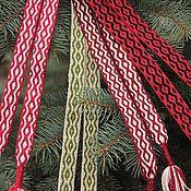 Русский стиль ручной работы. Ярмарка Мастеров - ручная работа Пояс к мужской рубахе, цена за метр. Handmade.