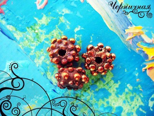 Для украшений ручной работы. Ярмарка Мастеров - ручная работа. Купить Вальс цветов 0807-350 (10). Handmade. Коричневый