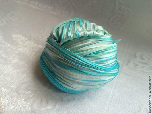 Для украшений ручной работы. Ярмарка Мастеров - ручная работа. Купить №49 Мальта   Ленты Шибори Silk Ribbons Shibori. Handmade.