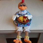 Куклы и игрушки ручной работы. Ярмарка Мастеров - ручная работа мягкая игрушка Пасхальная Курочка. Handmade.