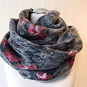 Аксессуары handmade. Livemaster - original item Felted wool neck scarf