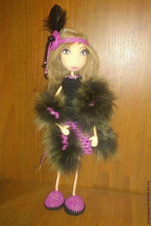 Человечки ручной работы. Ярмарка Мастеров - ручная работа. Купить Кукла вязаная крючком. Handmade. Куклы и игрушки, кукла крючком