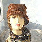 """Аксессуары handmade. Livemaster - original item wool hat """" The Autumn"""". Handmade."""