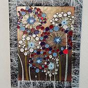 Для дома и интерьера handmade. Livemaster - original item Panels dandelions. Handmade.