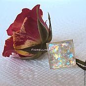 Украшения handmade. Livemaster - original item Ring square pearlescent sheen. Handmade.