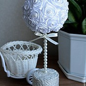 Цветы и флористика ручной работы. Ярмарка Мастеров - ручная работа Декоративное дерево Топиарий- дерево счастья. Handmade.
