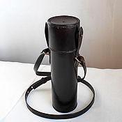 Сумки и аксессуары handmade. Livemaster - original item The leather sheath 2, protection, for weapon optics. Handmade.