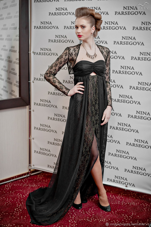 Dress ' Black gold', Dresses, Moscow,  Фото №1