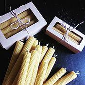 Сувениры и подарки ручной работы. Ярмарка Мастеров - ручная работа Наборы свечей. Handmade.